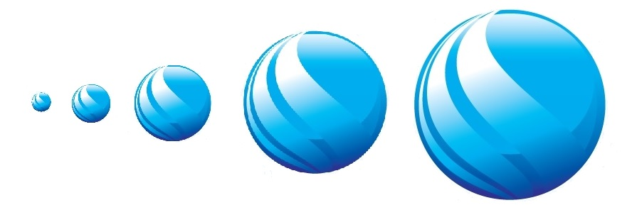 4 sphere logo